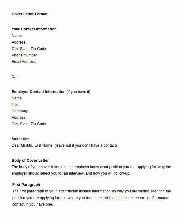 Professional Letter format 22 Free Word Pdf Documents