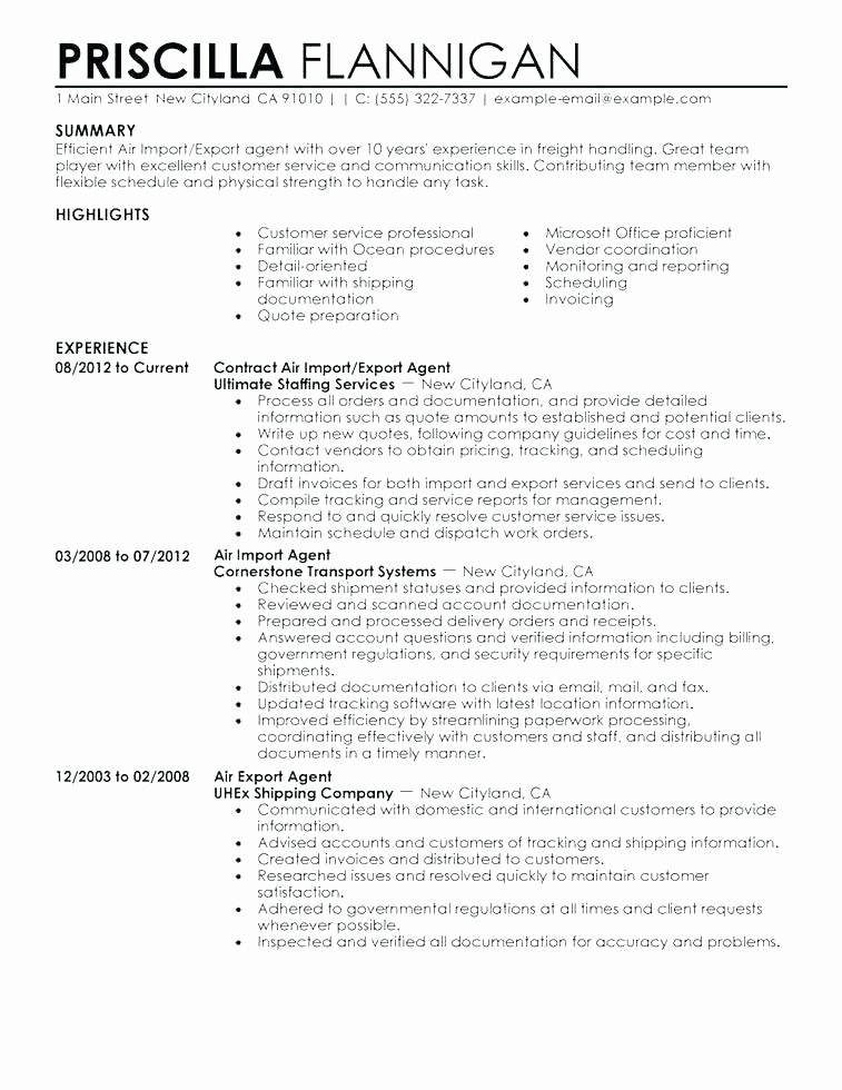 Professional Military Resume Templates Template Elegant