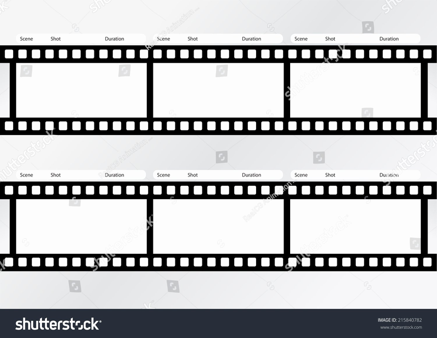 Professional Of Film Storyboard Template for Easy to
