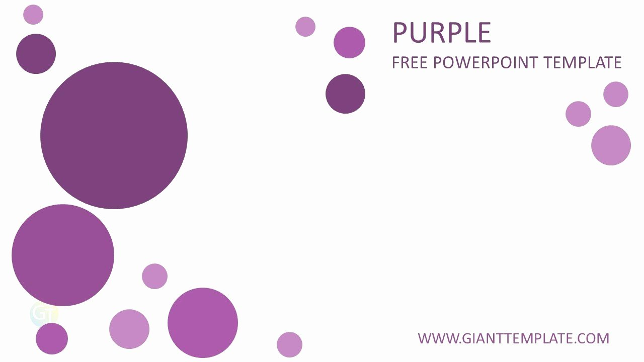 Professional Powerpoint Templates Free Download Purple