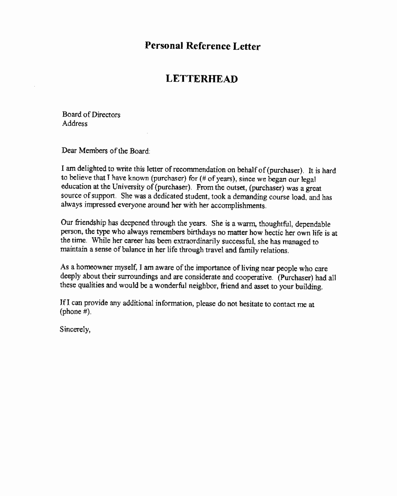 Professional Re Mendation Letter This is An Example Of