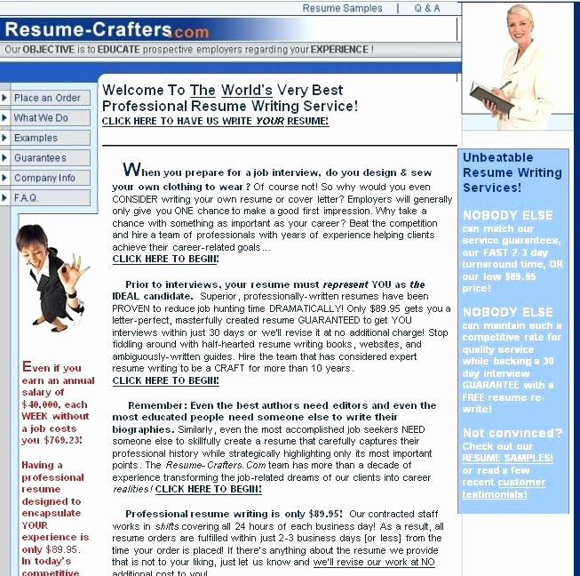 Professional Resume Writer Reviews Review the Best