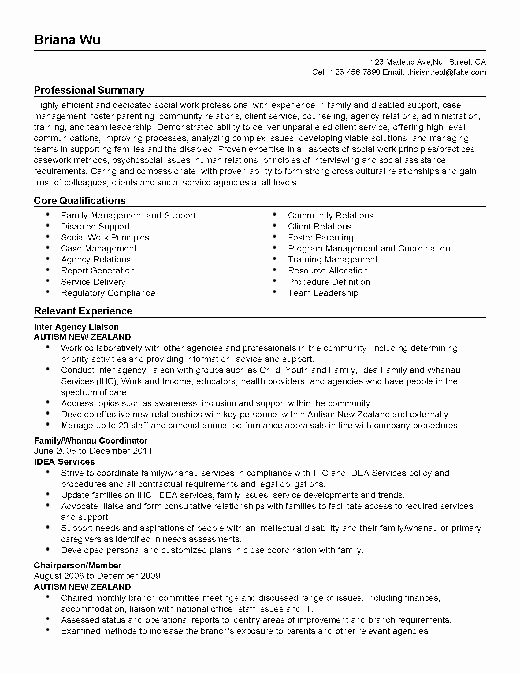 Professional social Work Professional Templates to
