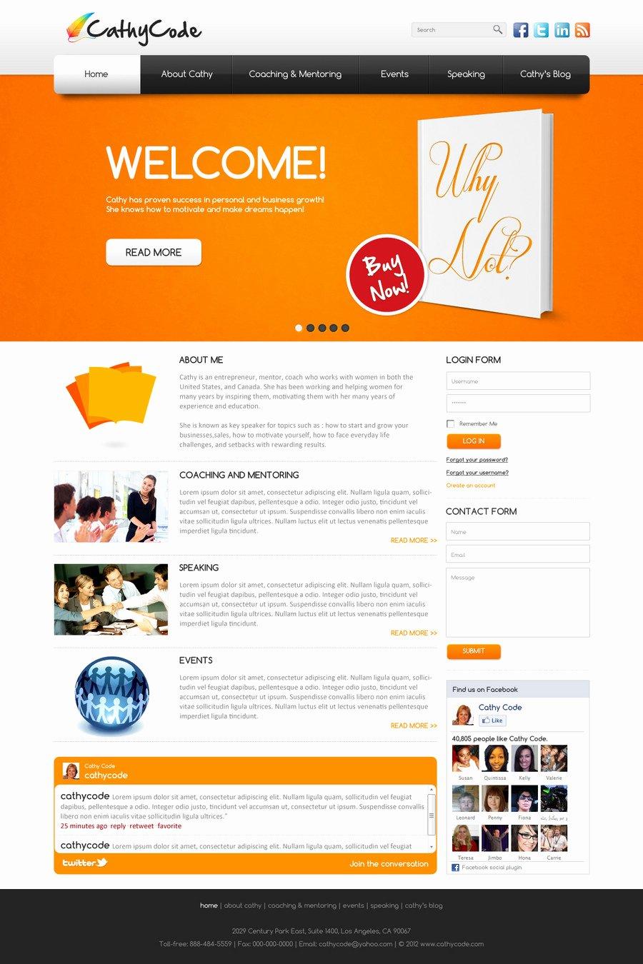 Professional Web Design Template