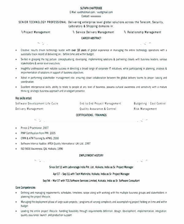Profile Example On Resume – Digiart