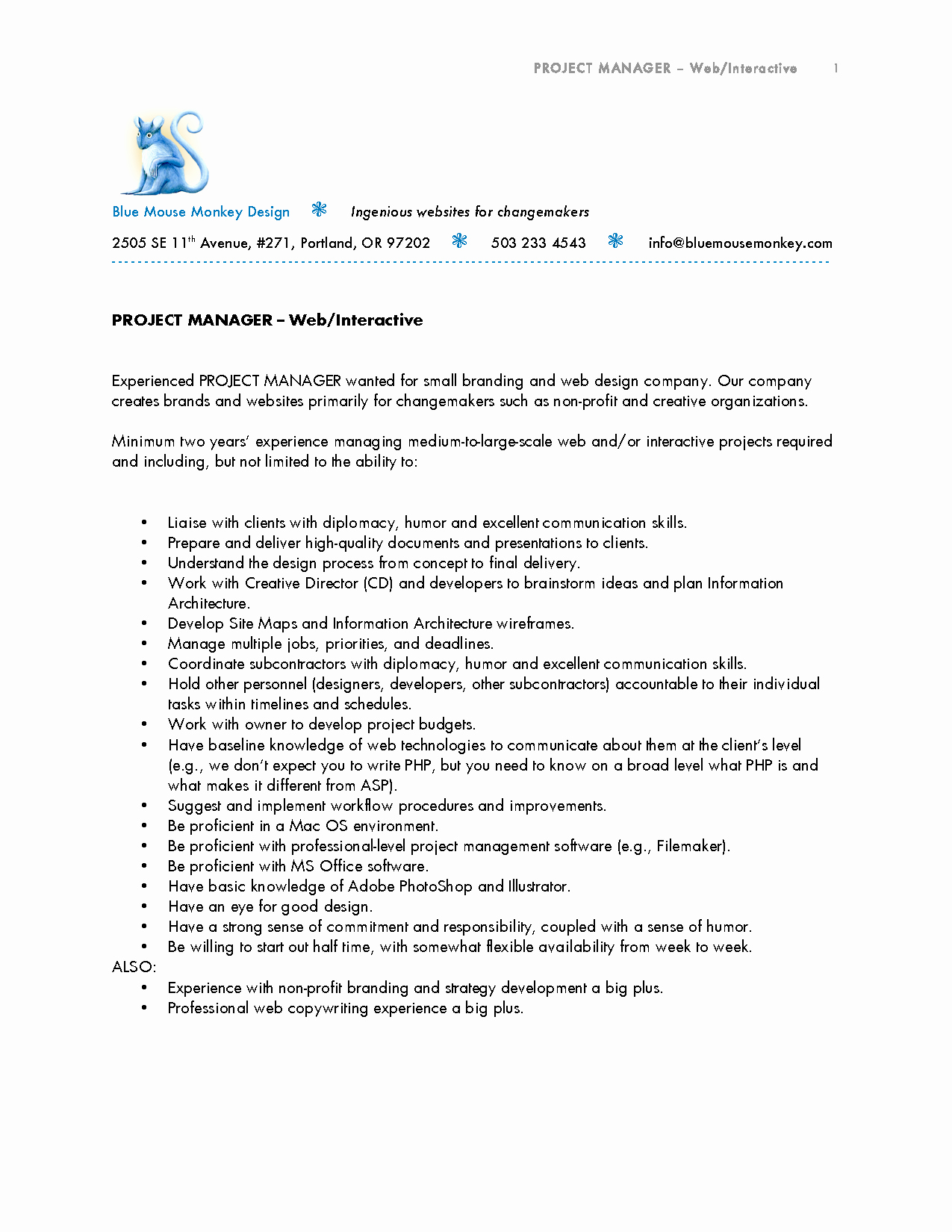 Program Manager Cover Letter Samples