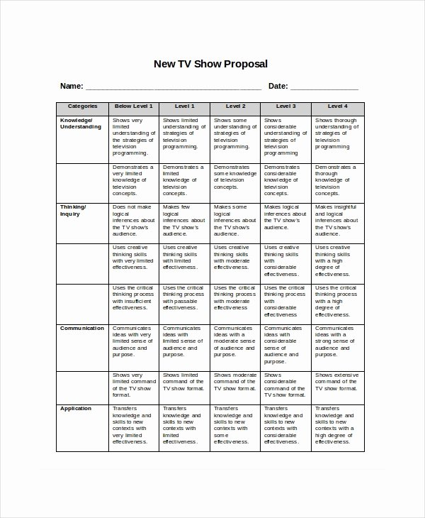 Program Proposal Template 11 Free Word Pdf Documents