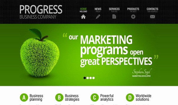 Progress Free HTML5 Template HTML5xcss3