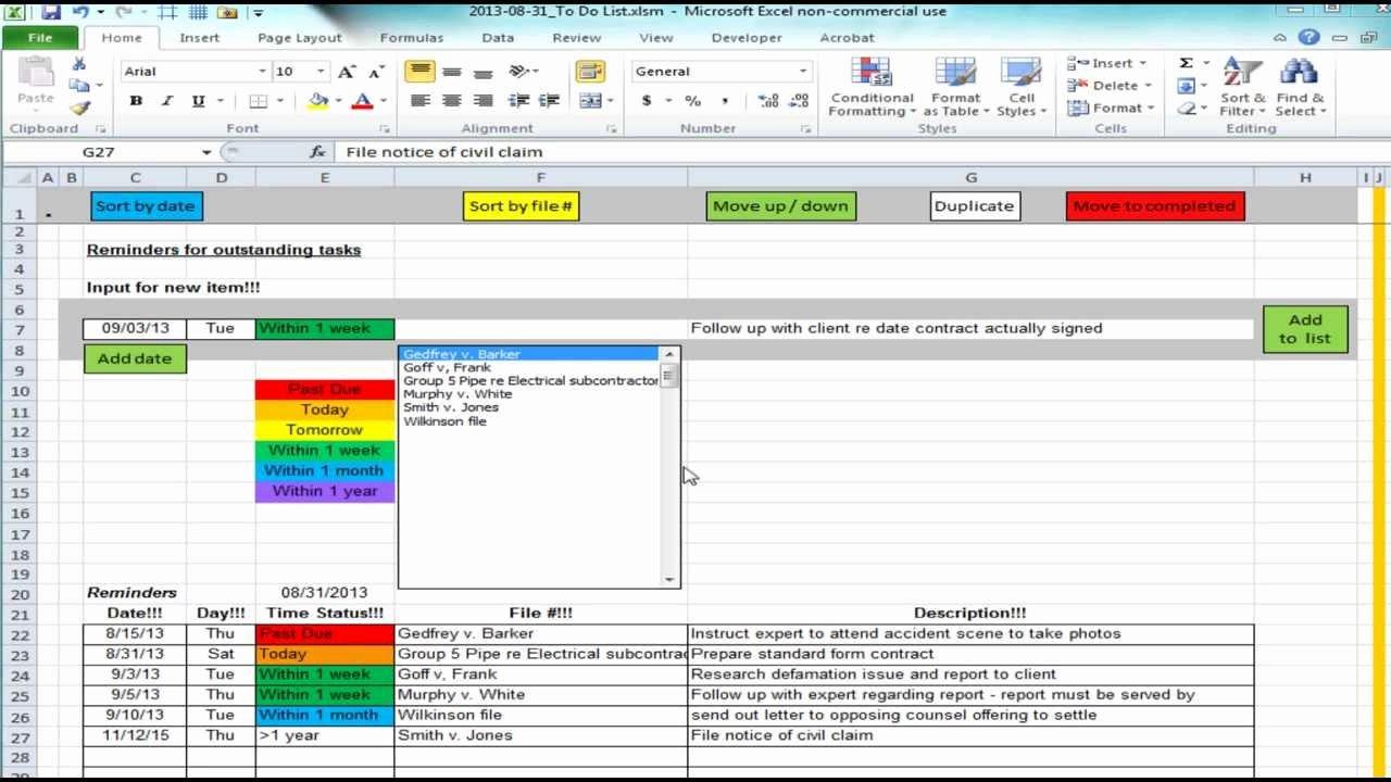 Project Management Spreadsheet Templates Spreadsheet