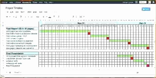 Project Management Timeline Template Excel How to Create A
