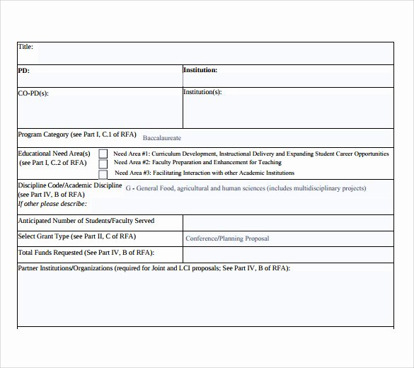 Project Summary Template Gallery