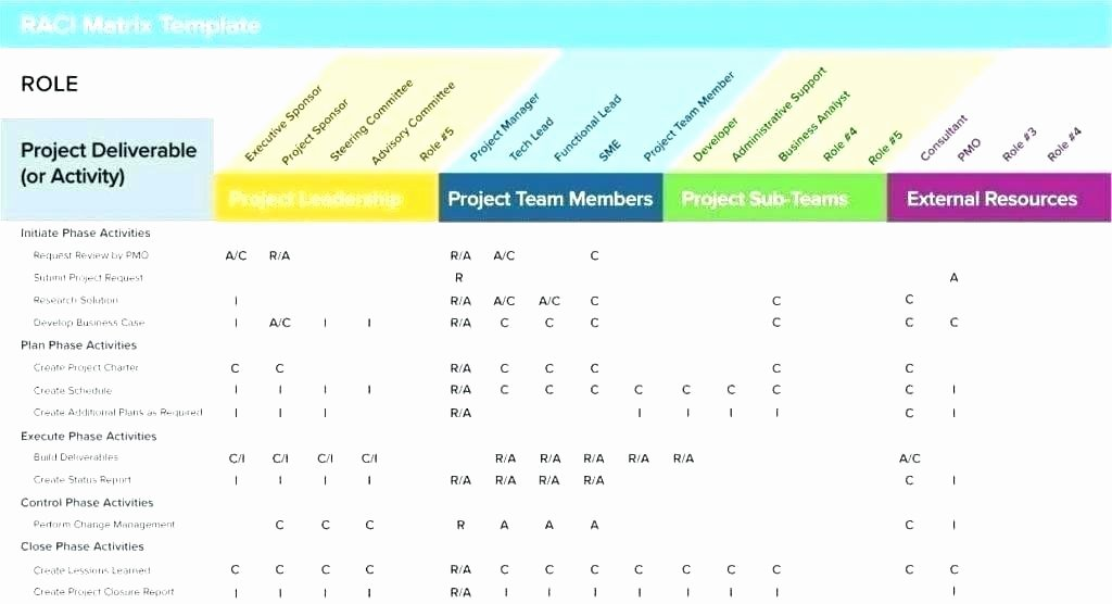 Project Tracking Excel Project Management Excel Template