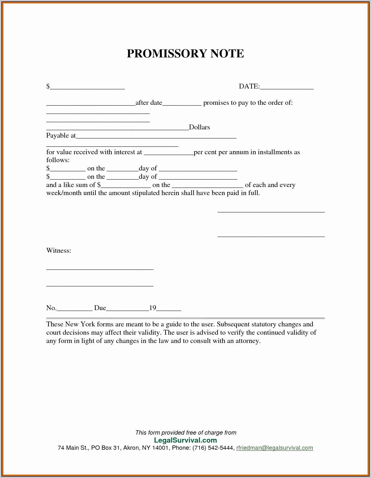 Promissory Note Template Personal Loan Template Resume