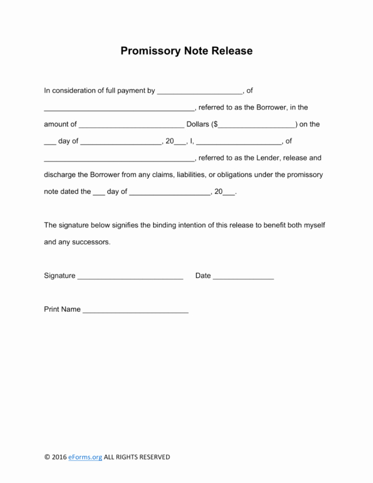 Promissory Note Template Word Templates Trakore Document