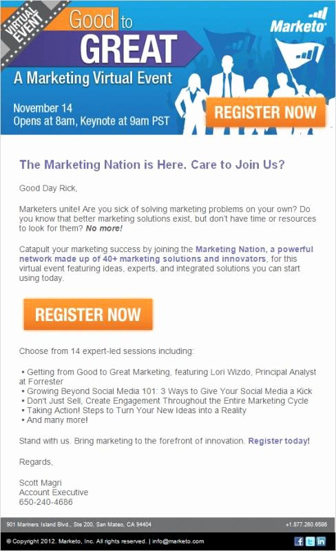 Promotional Email Template