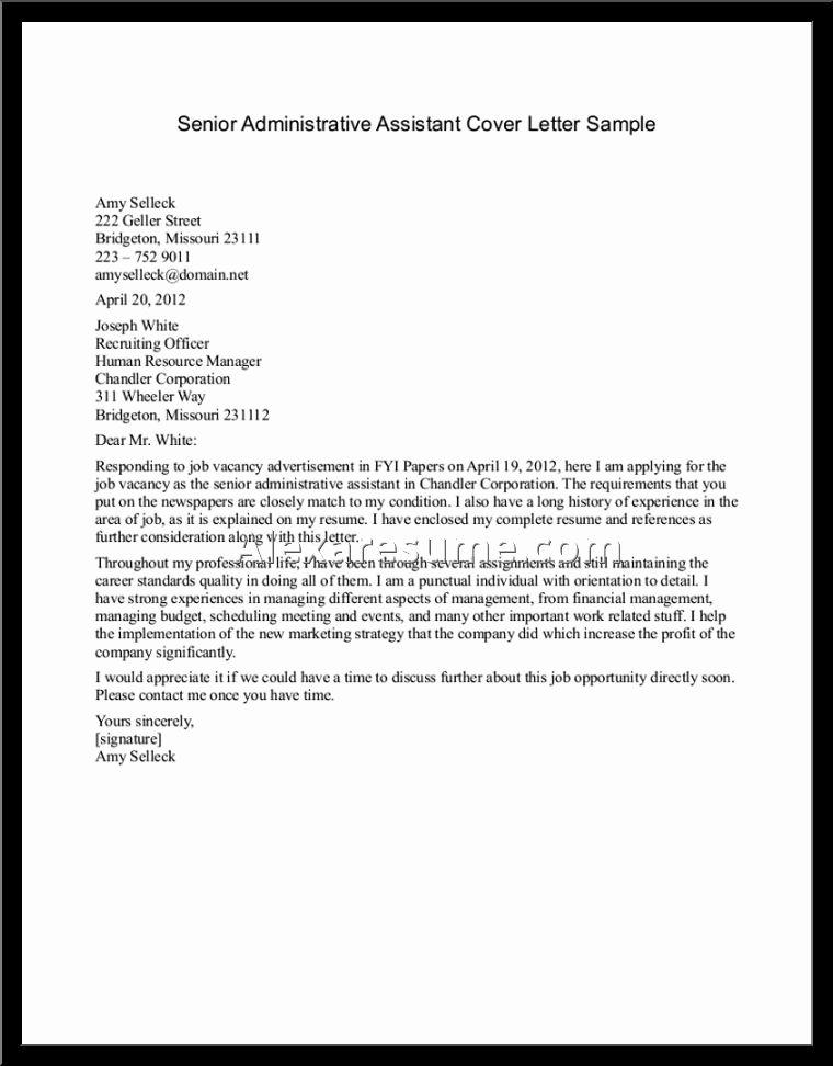 Proper Best Resume Cover Letter – Letter format Writing