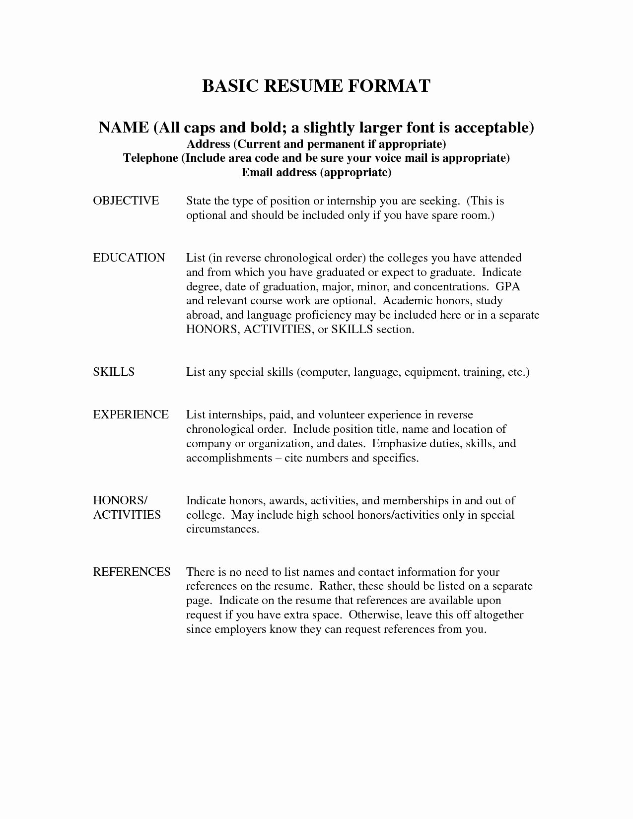 Proper Way to List References Resume Resume Ideas