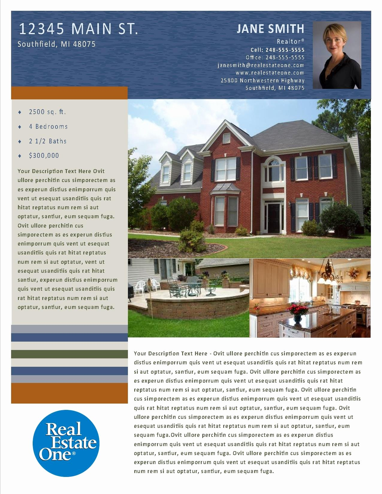 Property Flyer Publisher Templates – Reo Family Marketing