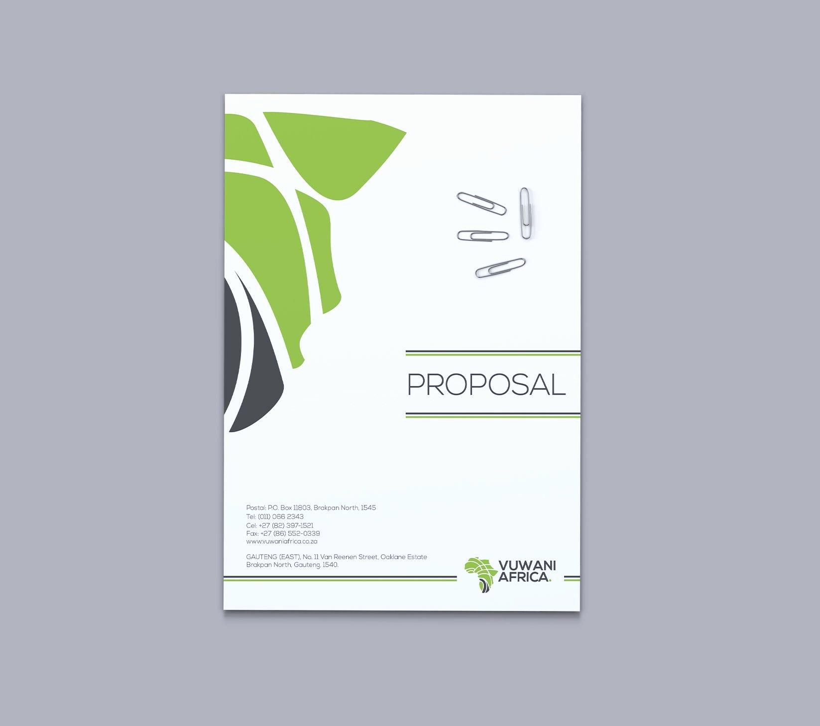 Proposal Cover Designs Google Search