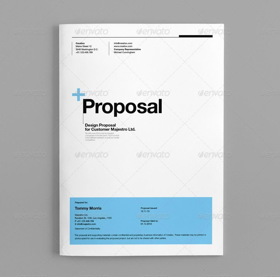 Proposal Template Suisse Design Graphicriver