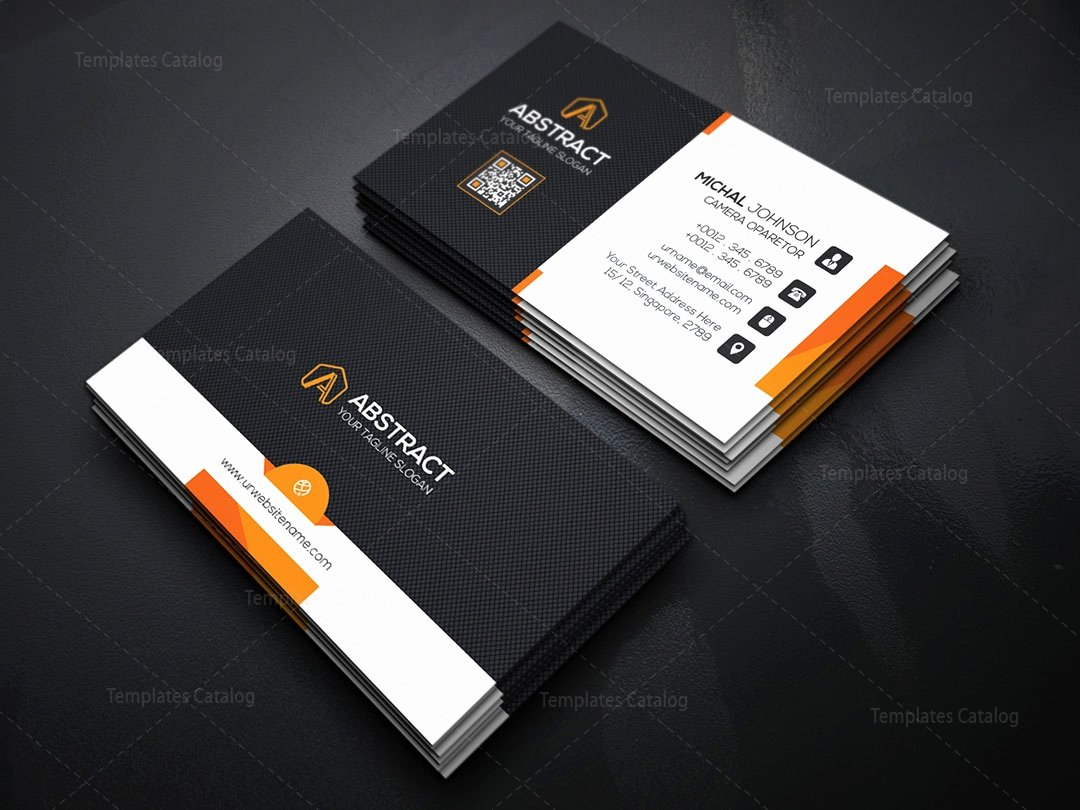 Psd Business Card Template Template Catalog