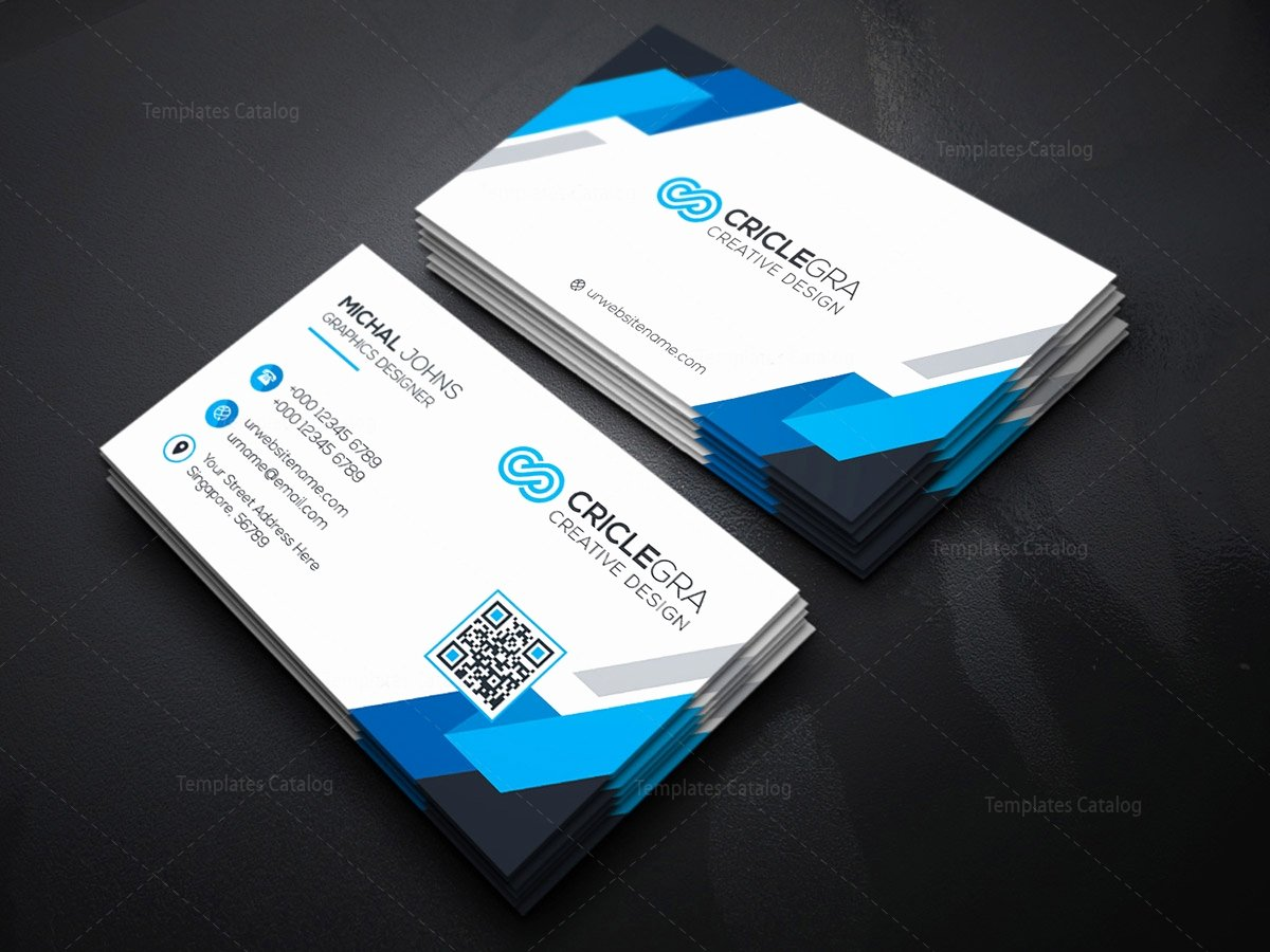 Psd organisation Business Card Template Template