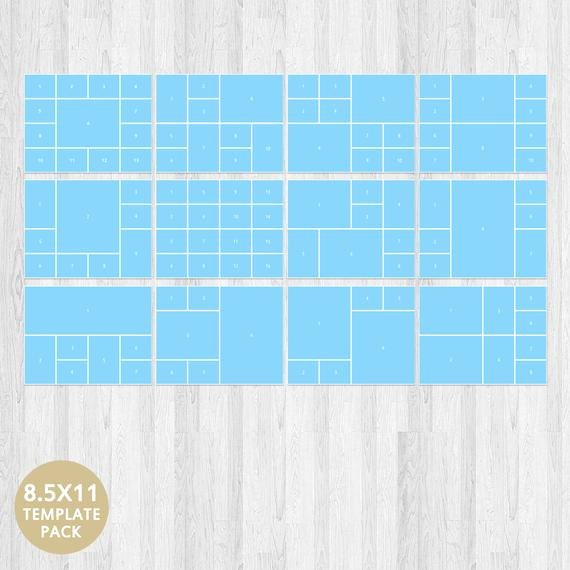 Psd Template Storyboard Template Collage