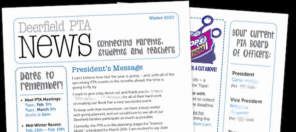 Pta Newsletter Local Elementary School