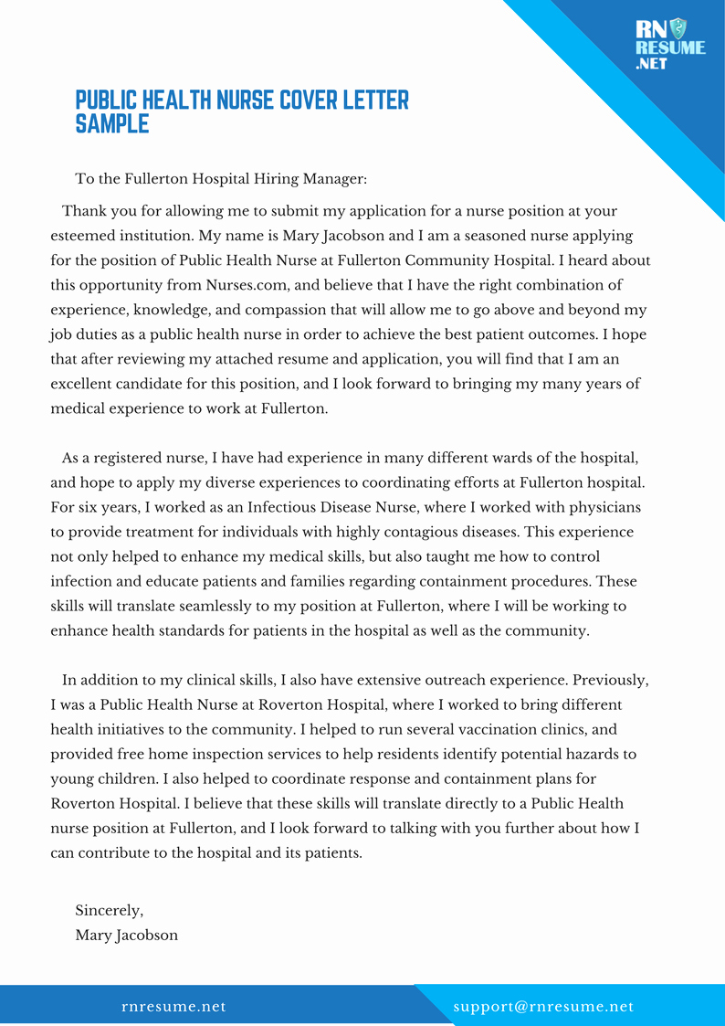 health educator cover letter sample  u2013 latter example template