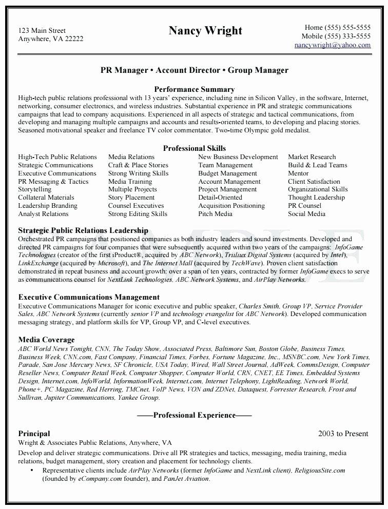 Public Speaking Resume Example Speaker Sample Portfolio
