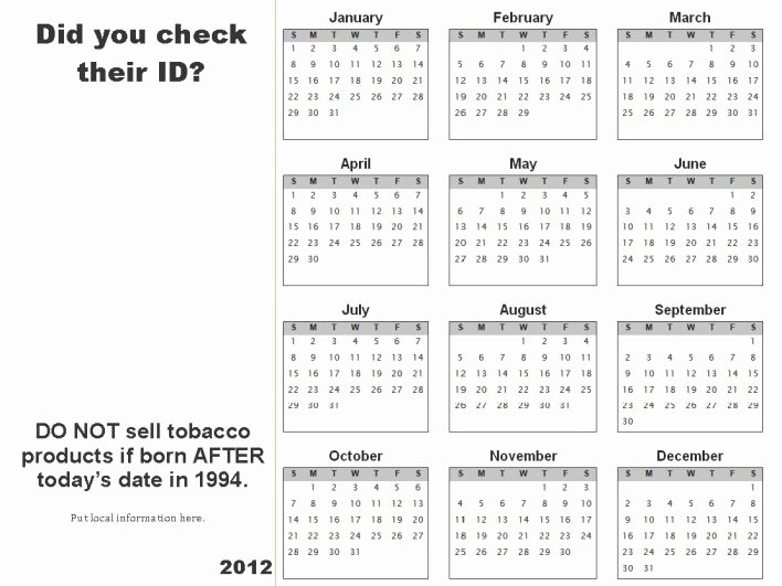 Publisher Calendar Understated