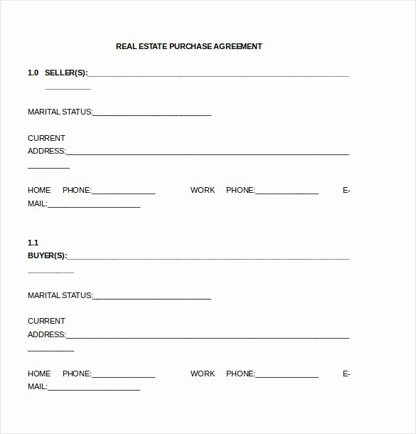 Purchase Agreement Template – 17 Free Word Pdf Document