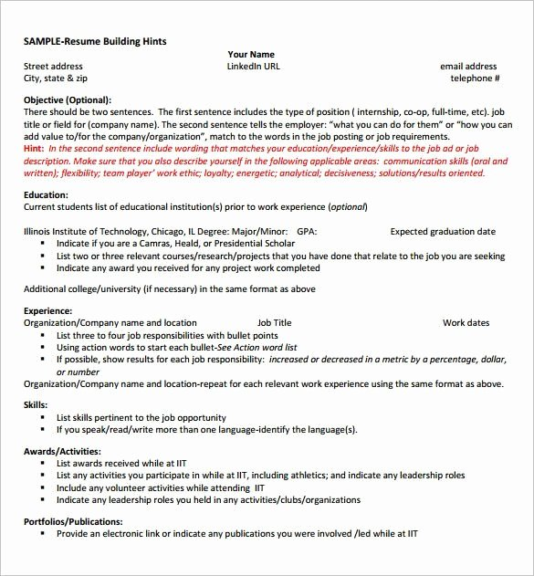 Puter Science Graduate Resume Best Resume Collection