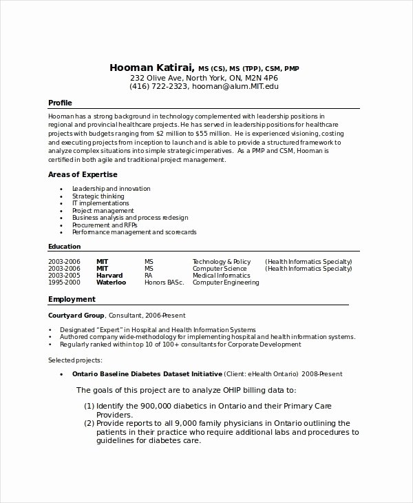 Puter Science Resume Sample