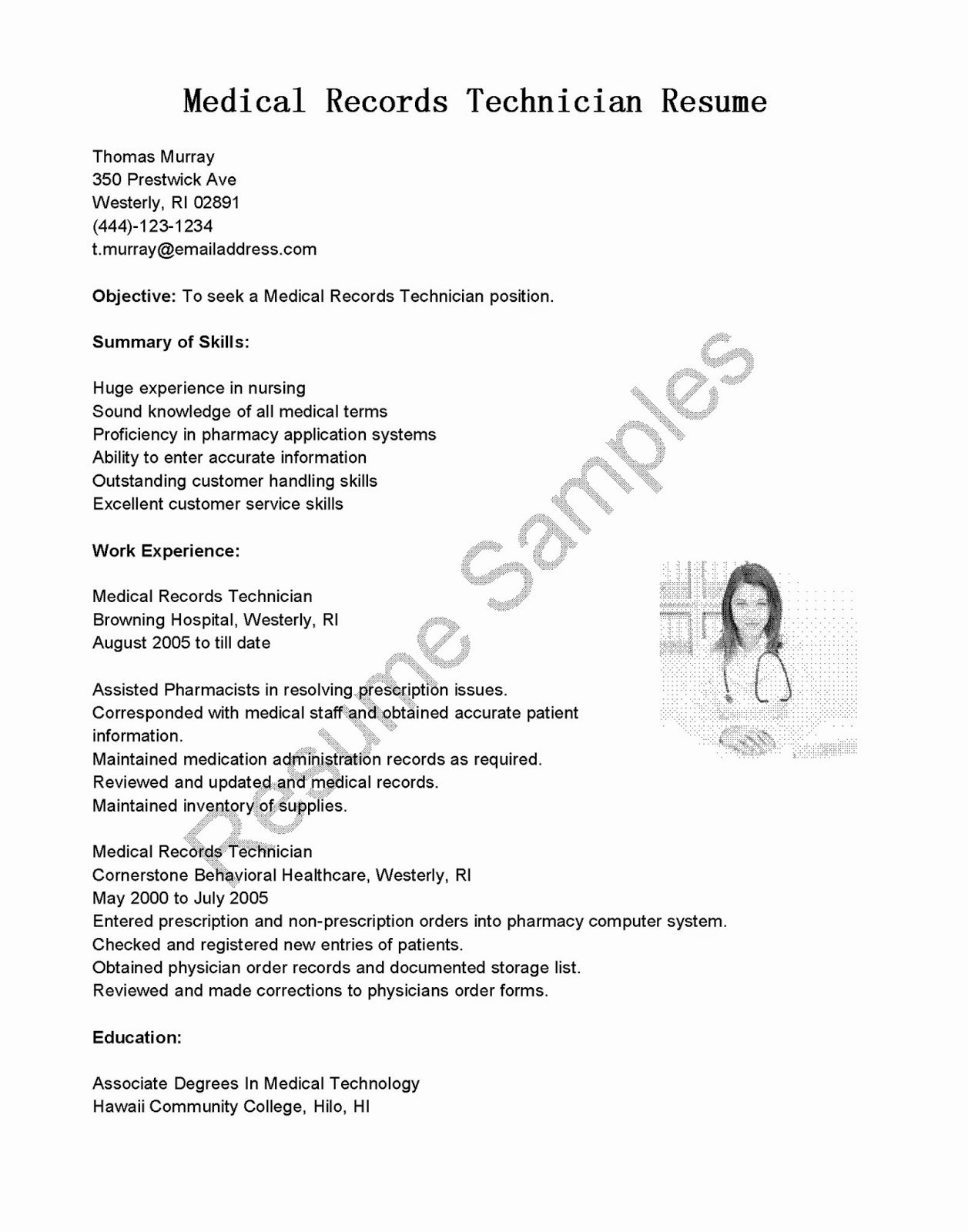 Puter Technician Resume Sample Writing Guide 20