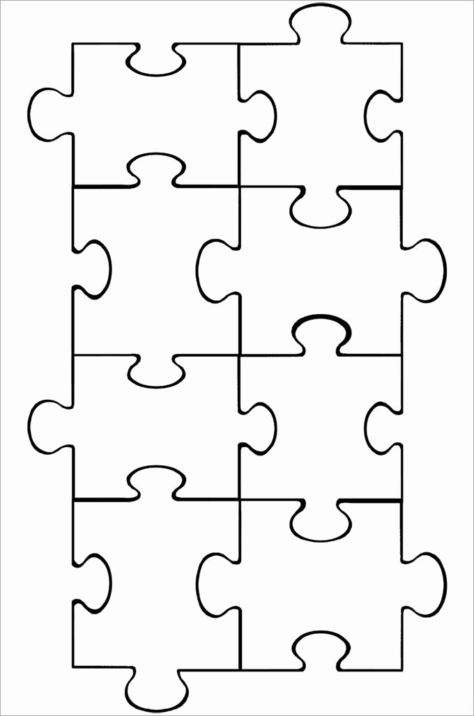 Puzzle Piece Template 19 Free Psd Png Pdf formats