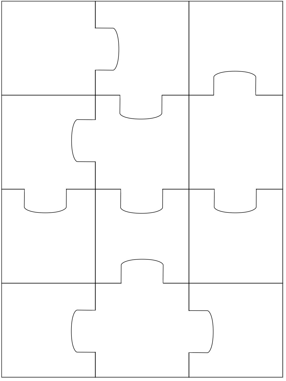 Puzzle Template Beepmunk