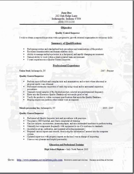 Qa Tester Resume Sample E Occupational Examples Samples