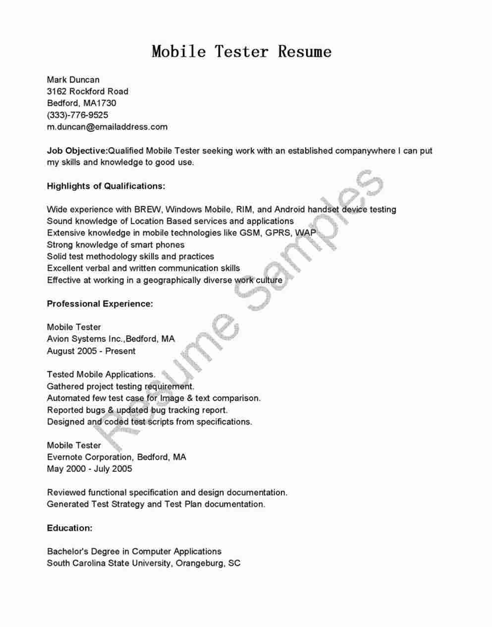 Quality Assurance Cover Letter Samples