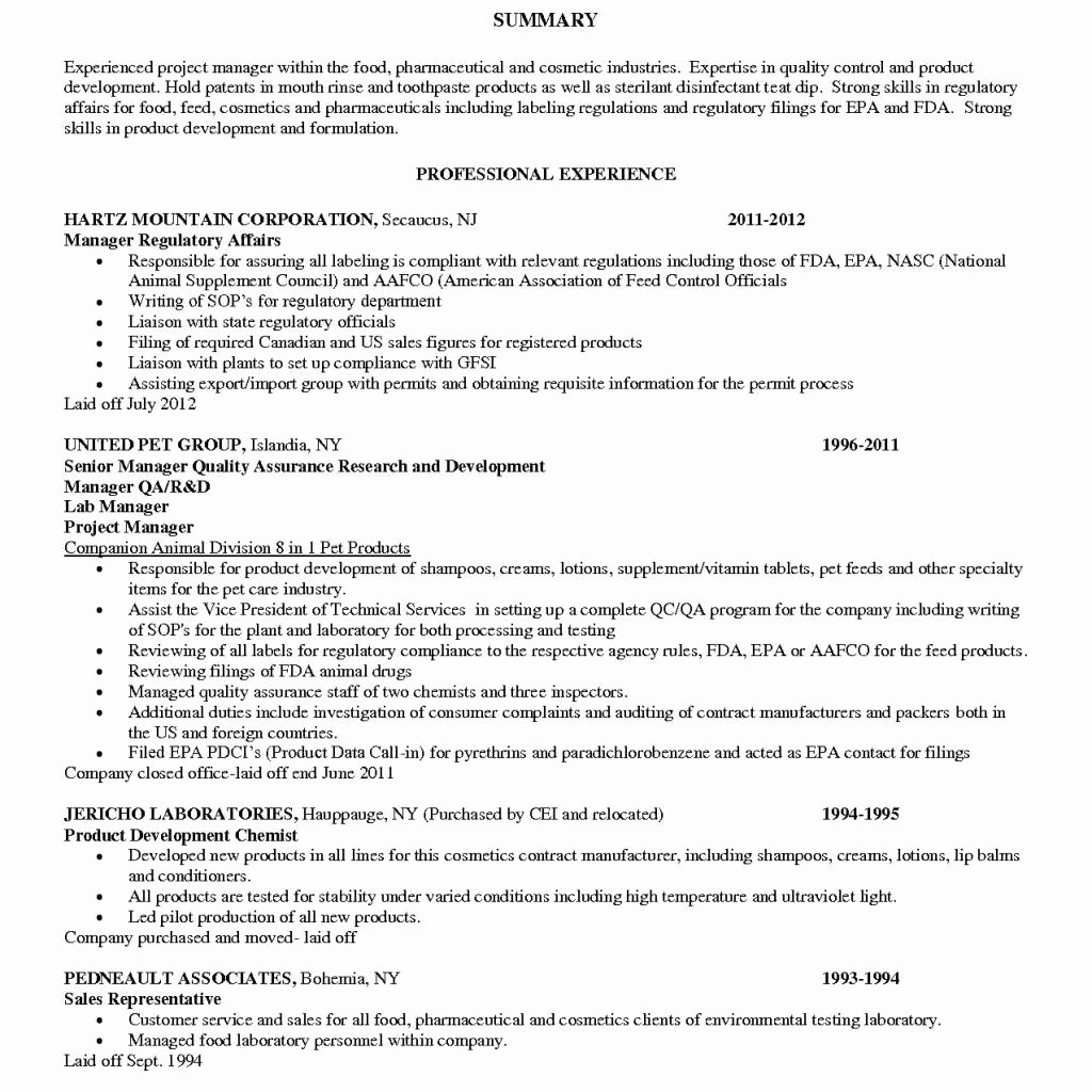 quality assurance lead resume