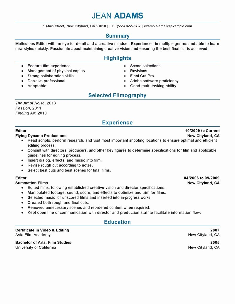 Quality assurance Specialist Resume Examples