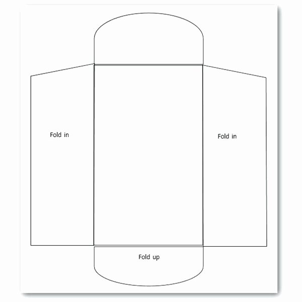 Quarter Fold Card Template Best Envelope Templates with