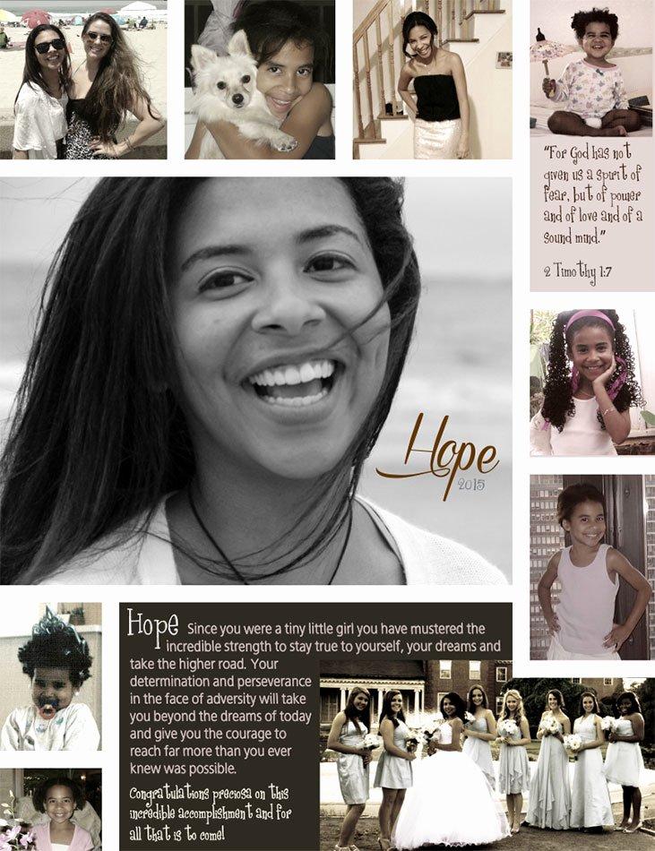 Que Sera Blog Senior Yearbook Ad