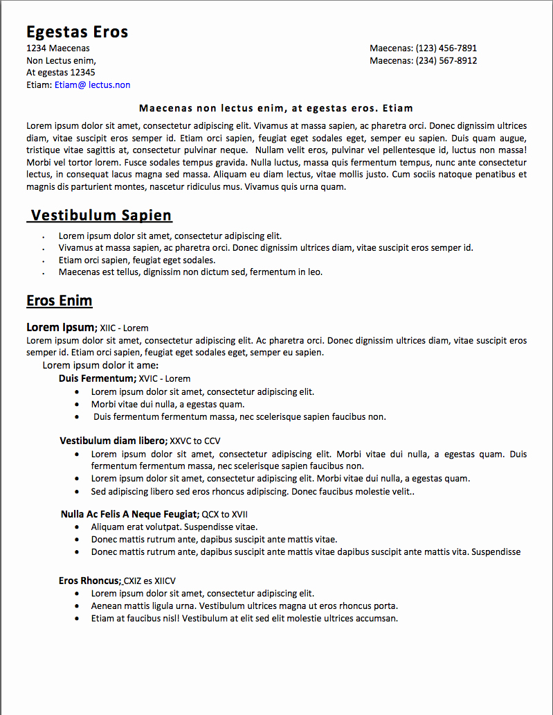 Quick Resume Update and Fixes