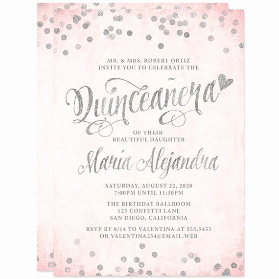 Quinceanera Invitation Wording Quinceanera Invitation