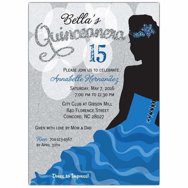 Quinceanera Invitations Quinceanera Invitations and