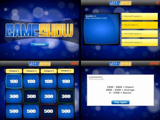 Quiz Show Template Powerpoint Bolducfo