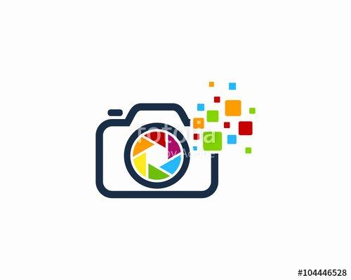 """camera Digital Graphy Logo Design Template"" Stock"