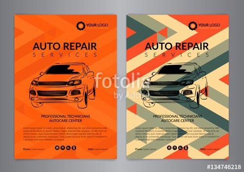 """set Auto Repair Business Layout Templates Automobile"