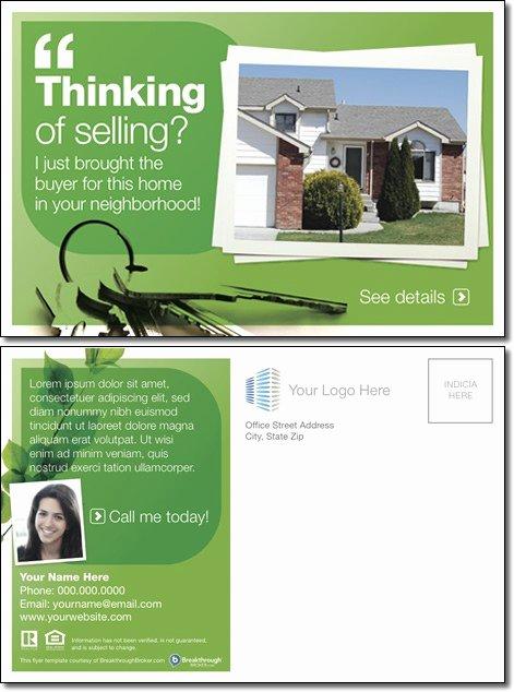 """thinking Selling "" Postcard"